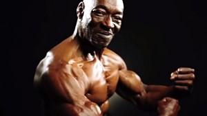 older fit black man
